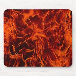 火のマウスパッドの炎 マウスパッド