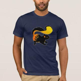 火のリス Tシャツ