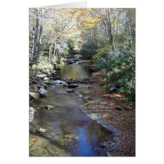 火の入り江の秋 カード