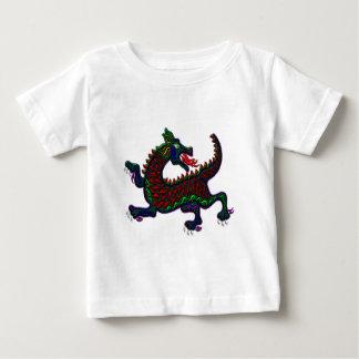 火の呼吸のドラゴン ベビーTシャツ