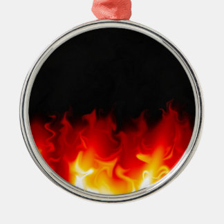 火の地獄からのギフト メタルオーナメント