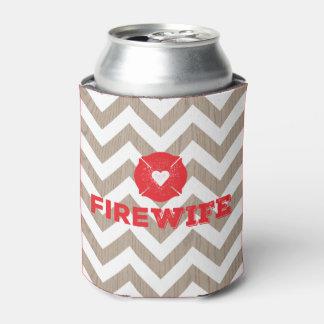 火の妻木シェブロン 缶クーラー