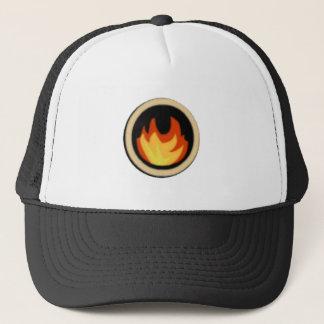 火の忍者のロゴの帽子 キャップ