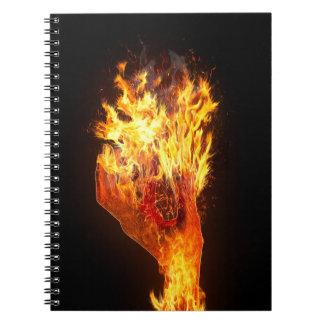 火の手 ノートブック