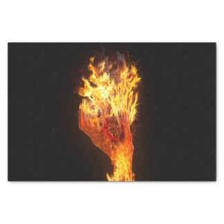 火の手 薄葉紙