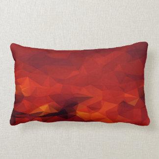 火の抽象的な腰神経の枕 ランバークッション