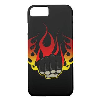 火の握りこぶしのiPhone 7の場合 iPhone 8/7ケース