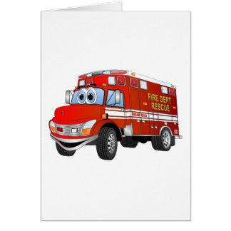 火の救助の漫画 カード