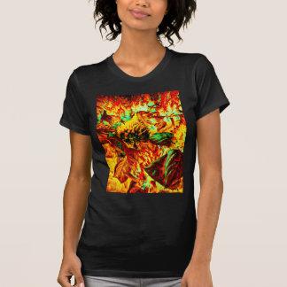 火の植物 Tシャツ
