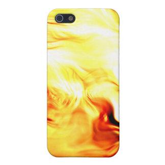 火の渦巻のSpeckの場合 iPhone 5 Case