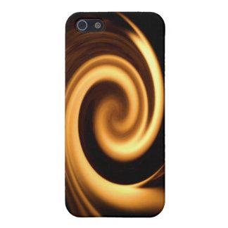火の渦巻 iPhone 5 CASE