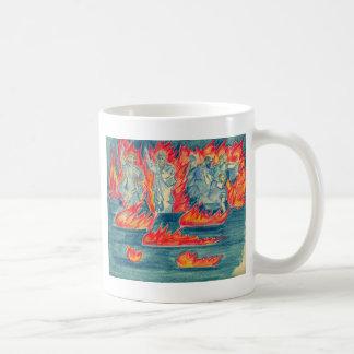 火の湖 コーヒーマグカップ