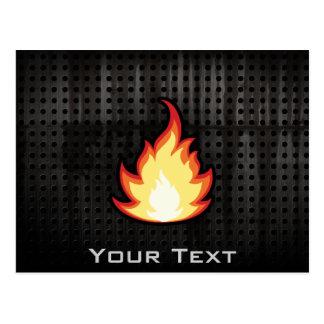 火の炎; 険しい ポストカード