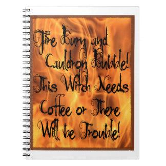 火の焼跡 ノートブック