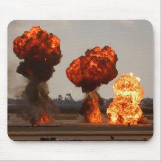 火の爆発 マウスパッド