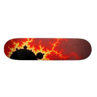 火の稲妻 スケートボードデッキ