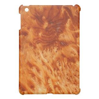 火の節玉のWoodgrainのiPadの場合 iPad Miniケース