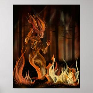 火の精神 ポスター