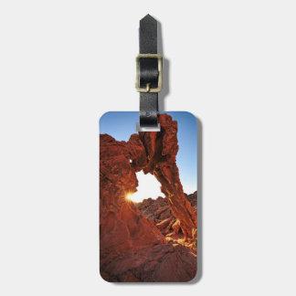 火の谷の象の石 ラゲッジタグ