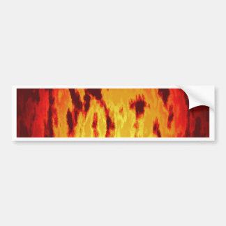 火の質 バンパーステッカー