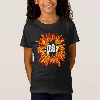 火のAbbyの一流の星 Tシャツ