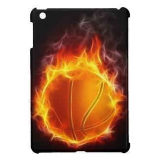 火のiPad Miniケースのバスケットボール iPad Mini カバー