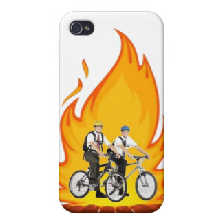 火のIphone 4sの場合のモルモン教徒 iPhone 4 Cover