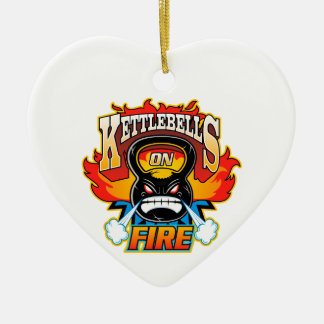 火のKettlebells セラミックオーナメント