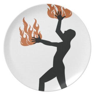 火のTwirler プレート