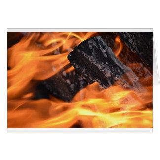 火シリーズLellO グリーティングカード