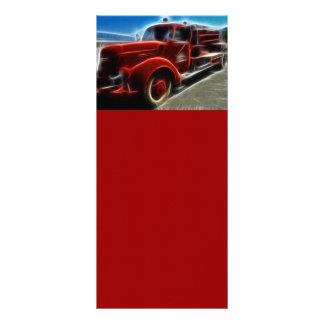 火トラック68276のDIGITALの現実主義熱いTRANSPORTTION ラックカード