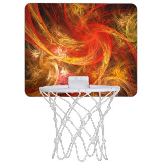 火事場風の新星の抽象美術 ミニバスケットボールゴール