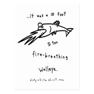 火呼吸のWalleyes ポストカード