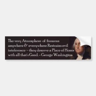 火器のバンパーステッカーのワシントン州の引用文 バンパーステッカー