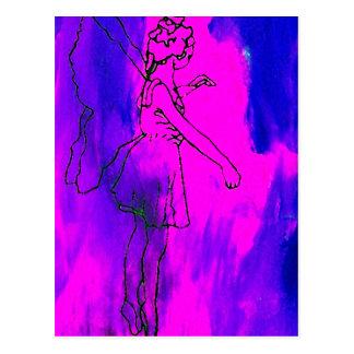"""""""火妖精の""""のCricketDianeの芸術及びデザイン はがき"""