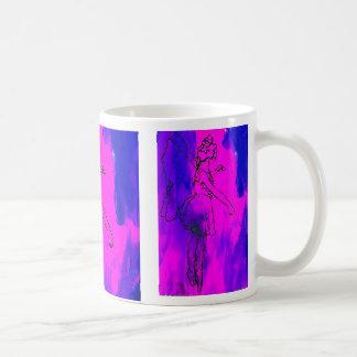 """""""火妖精の""""のCricketDianeの芸術及びデザイン コーヒーマグカップ"""