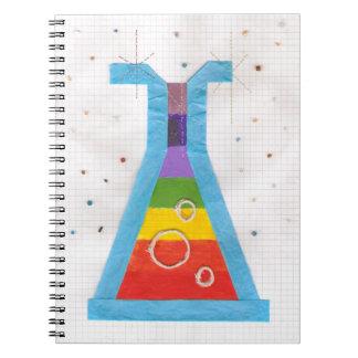 火山ガラスびんのノート ノートブック