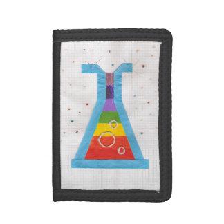 火山ガラスびんの財布 ナイロン三つ折りウォレット