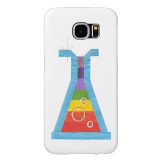 火山ガラスびんのSamsungの銀河系S6の箱 Samsung Galaxy S6 ケース