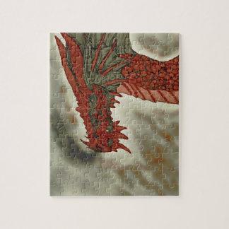 火山ドラゴンのパズル ジグソーパズル