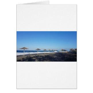 火山ビーチ カード