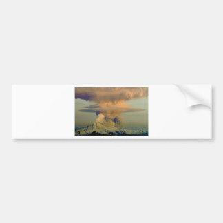 火山ブーム バンパーステッカー