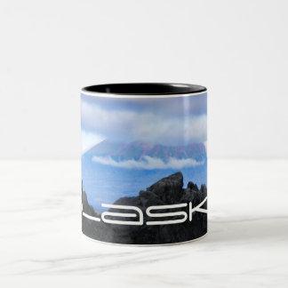 火山写真のマグ ツートーンマグカップ