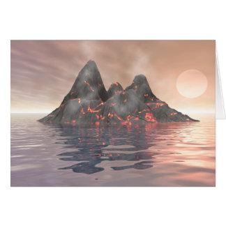 火山島 カード
