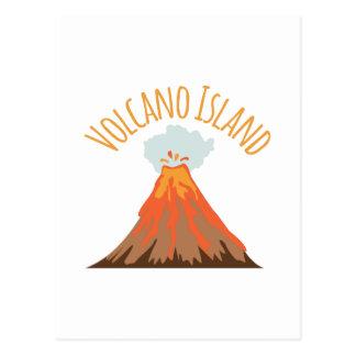 火山島 ポストカード