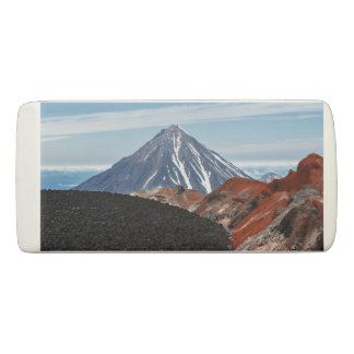 火山景色の景色の概観 消しゴム