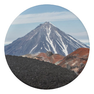 火山景色の美しい概観 消しゴム