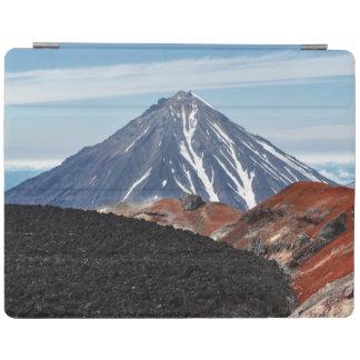 火山景色の美しい概観 iPad カバー