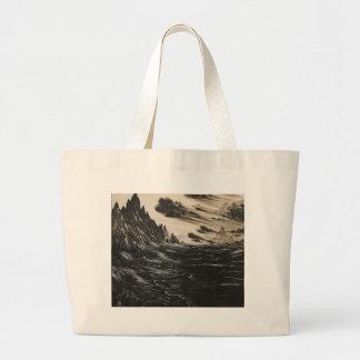 火山海岸 ラージトートバッグ