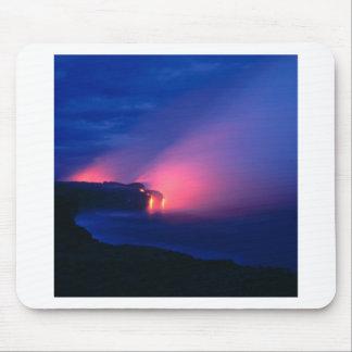 火山溶岩流Kilaueaハワイ マウスパッド